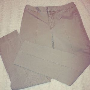 Not Your Daughters Jeans Ankle Khaki size 6 Pants